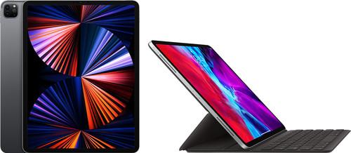 Apple iPad Pro (2021) 12,9 inch 256GB Wifi Space Gray + Smart Keyboard Main Image
