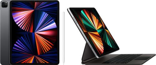 Apple iPad Pro (2021) 12,9 inch 256GB Wifi Space Gray + Magic Keyboard + Pencil 2 Main Image