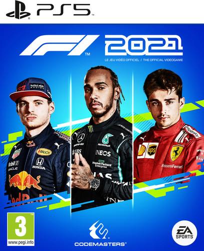 F1 2021 PS5 Main Image