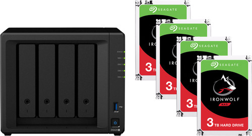 Synology DS420+ + 12TB (3x4TB) Main Image