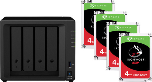 Synology DS420+ + 16TB (4x4TB) Main Image
