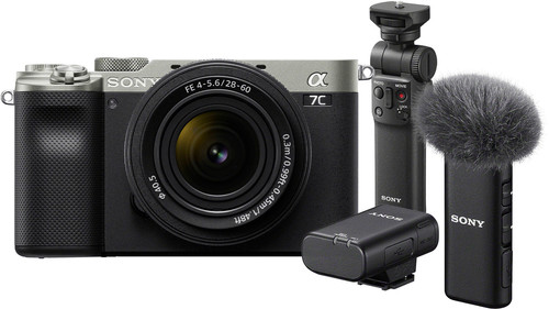 Sony A7C Zilver + 28-60mm f/4-5.6 Vlogkit Main Image