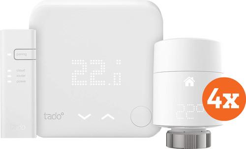Tado Slimme Thermostaat V3+ startpakket + 4 radiatorknoppen Main Image