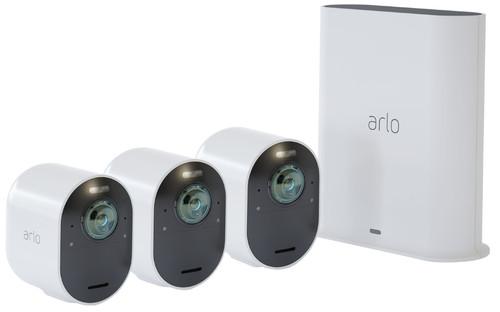 Arlo Ultra 2 4K Wit 3-Pack Main Image
