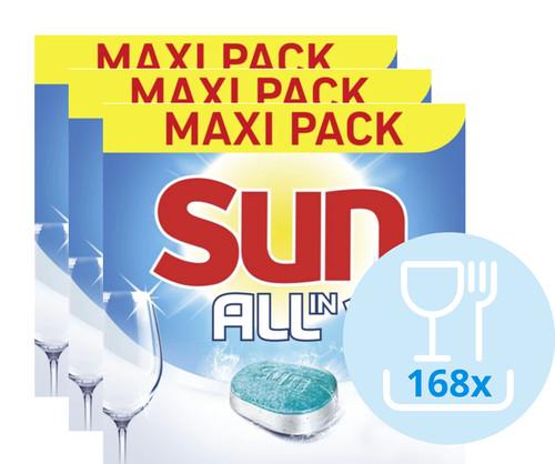 Sun All-in-1 Normaal - 168 vaatwastabletten Main Image
