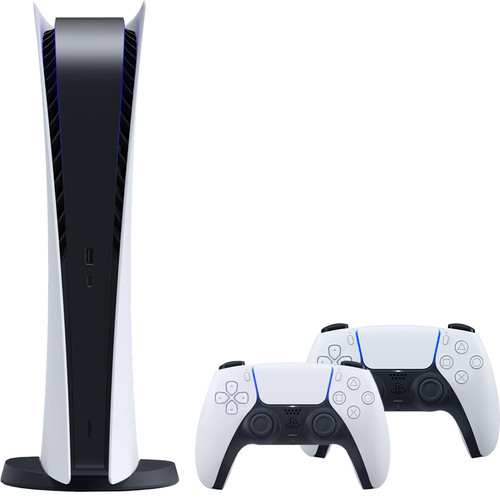 PlayStation 5 Digital Edition + Sony PlayStation 5 DualSense draadloze controller Main Image