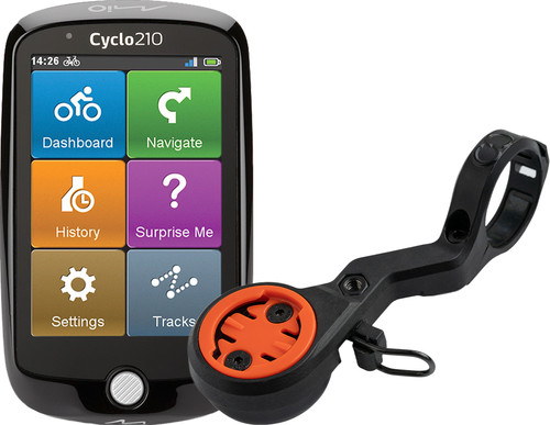 Mio Cyclo 210 Europa + CloseTheGap HideMyBell regular2 Stuurhouder Main Image