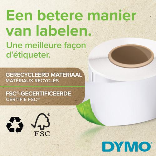 DYMO Authentieke LabelWriter Kleine Naambadge Label Wit (41 mm x 89 mm) Main Image