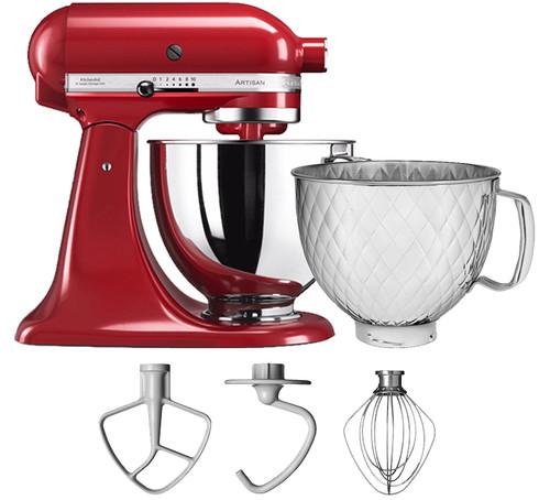 KitchenAid Artisan Mixer 5KSM125 Keizerrood + Extra mengkom Main Image