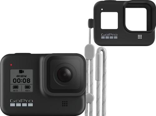 GoPro HERO 8 Black + Sleeve + Lanyard Main Image