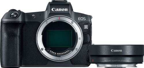 Canon EOS R Body + EF-EOS R Adapter Main Image