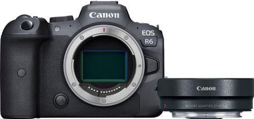 Canon EOS R6 Body + EF-EOS R Adapter Main Image