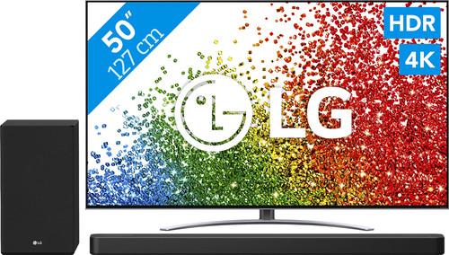 LG 50NANO886PB (2021) + Soundbar Main Image