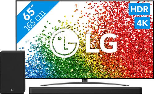LG 65NANO866PA (2021) + soundbar Main Image