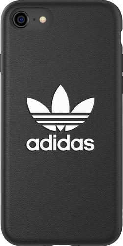 Adidas Apple iPhone SE/8/7/6s/6 Back Cover Leer Zwart Main Image