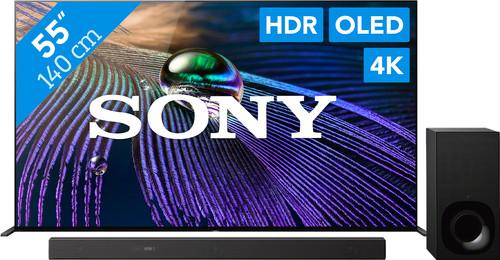 Sony Bravia OLED XR-55A90J (2021) + Soundbar Main Image