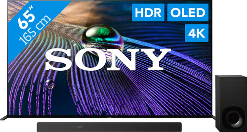 Sony Bravia OLED XR-65A90J (2021) + Soundbar Main Image