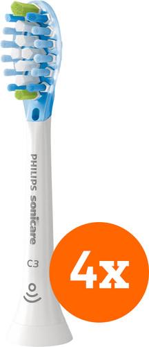 Philips Sonicare Premium Plaque Defense HX9044/17 (4 stuks) Main Image