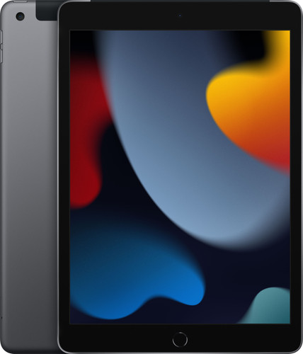Apple iPad (2021) 10.2 inch 64GB Wifi + 4G Space Gray Main Image