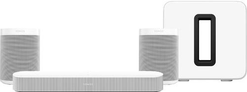 Sonos Beam Gen. 2 Wit 5.1 + One (2x) + Sub G3 Main Image