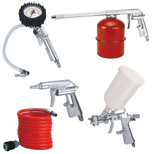 Einhell Kit d'accessoires pour compresseur (5 pièces) Main Image