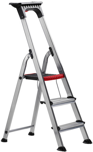 Altrex Double Decker Household Ladder 3 steps Main Image