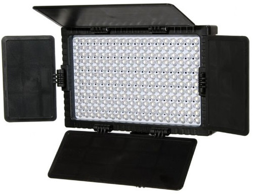 Falcon Eyes LED Lamp Set Dimmable DV-216VC-K2 incl  Battery