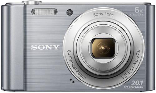 Sony CyberShot DSC-W810 Argent Main Image