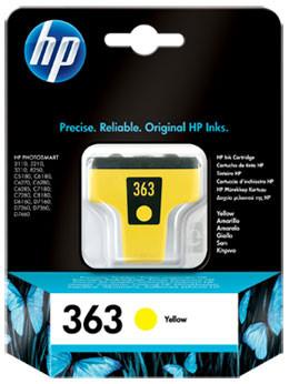 HP 363 Cartridge Geel (C8773EE) Main Image