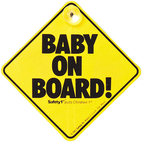 Safety 1st Baby on Board Main Image