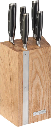 Diamant Sabatier Integra Bloc à Couteaux (5 pièces) Main Image