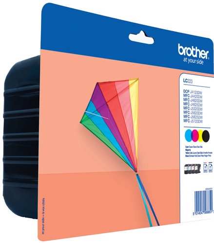 Brother LC-223 4-Color Pack LC-223VALBP Main Image