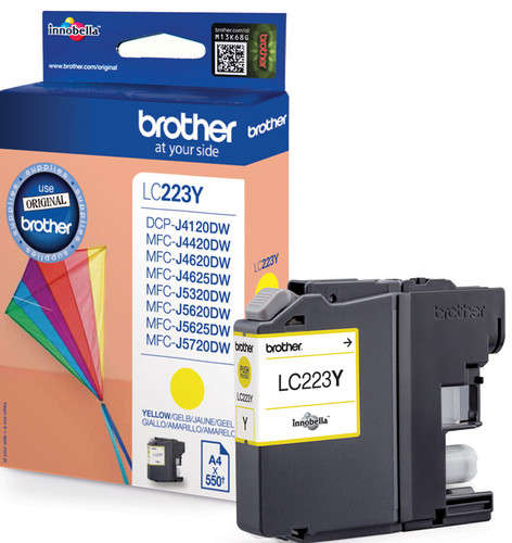 Brother LC-223Y Cartridge Yellow Main Image