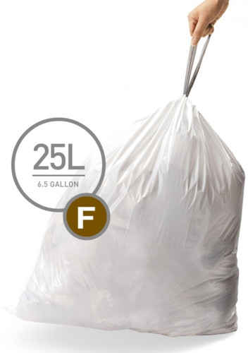 Simplehuman Waste bags Code F - 25 Liter (20 pieces) Main Image