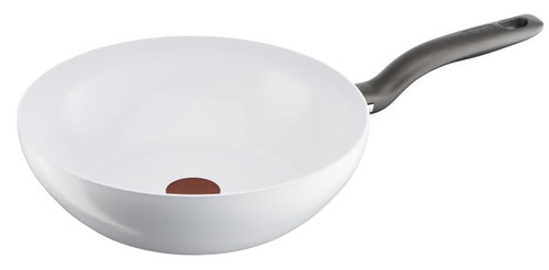 Wok Tefal Ceramic Control White Induction 28 cm Main Image