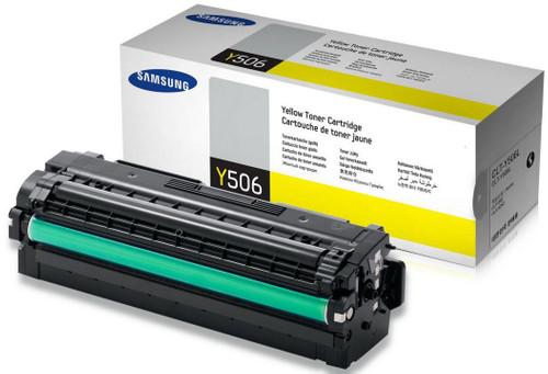 Samsung CLT-Y506L Toner Jaune XL Main Image