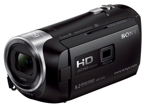 Sony HDR-PJ410 Zwart Main Image