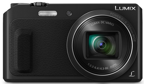 Panasonic Lumix DMC-TZ57 Black Main Image