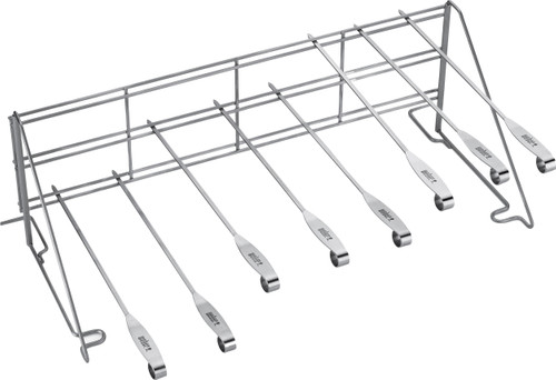 Weber Vertical System Rack with 8 skewers Main Image