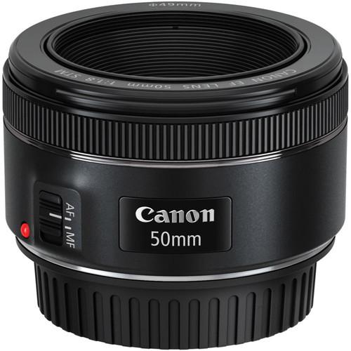 Canon EF 50mm f/1.8 STM + Hoya Digital Filter Introduction K bovenkant