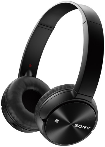 Sony MDR-ZX330BT Black Main Image