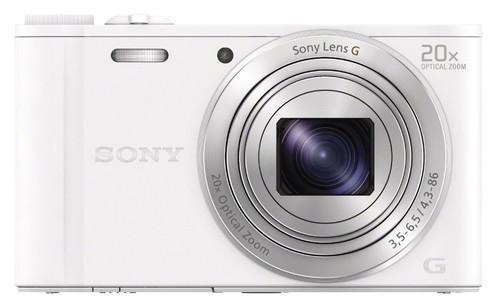 Sony CyberShot DSC-WX350 Blanc Main Image
