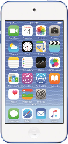 Apple iPod Touch 6 32GB Blauw Main Image