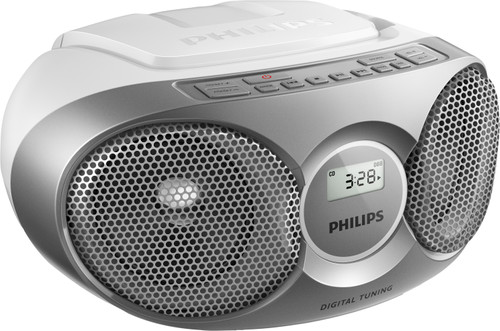 Philips AZ215 Zilver Main Image