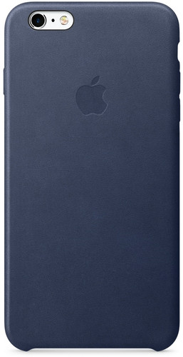 huge inventory fc925 68f29 Apple iPhone 6s Plus Leather Case Cosmos Blue