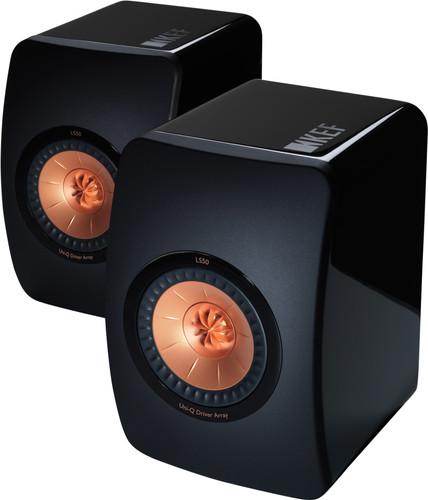 KEF LS50 Ultra Brillant Noir (par deux) Main Image