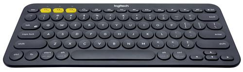 Logitech K380 Bluetooth Keyboard Black AZERTY