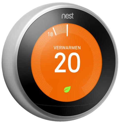 Google Nest Learning Thermostat (3e generatie) Main Image