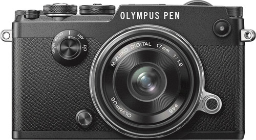 Olympus PEN-F Black + 17mm Main Image