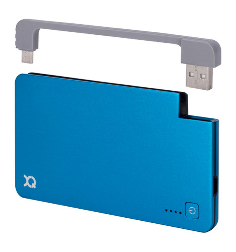 Xqisit Powerbank 3000 mAh Micro USB Blauw Main Image